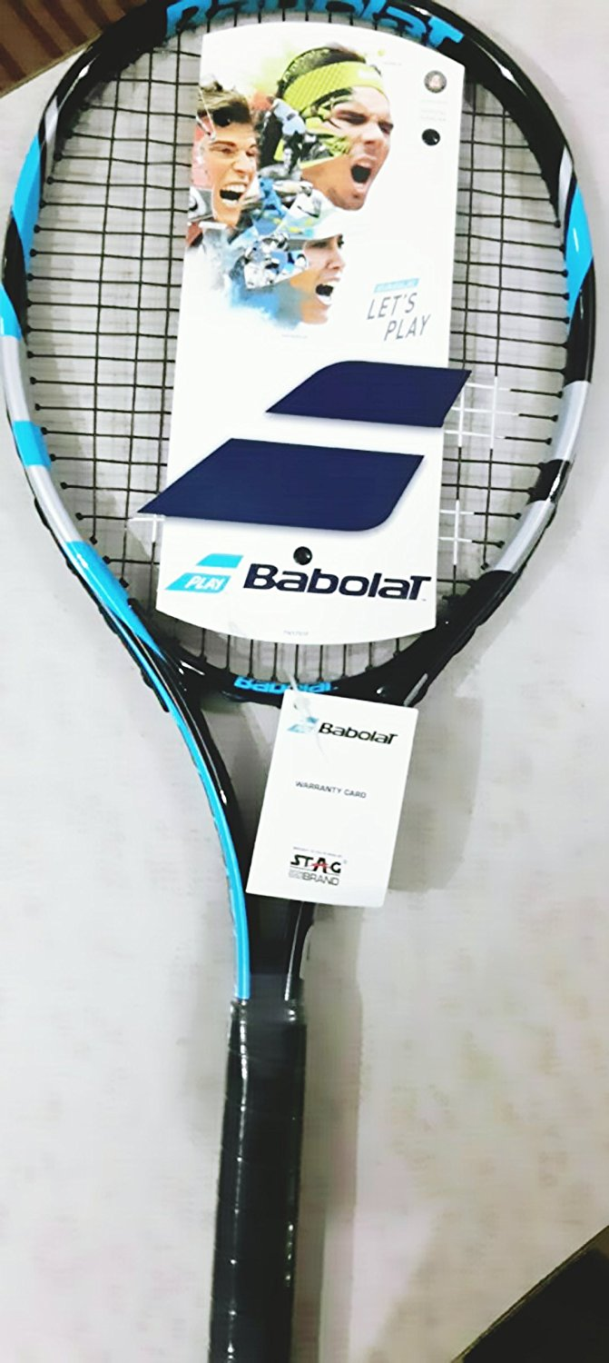 376b01f613e Buy BABOLAT 121192-286 Eagle Strung Tennis Rackets Online at Best ...