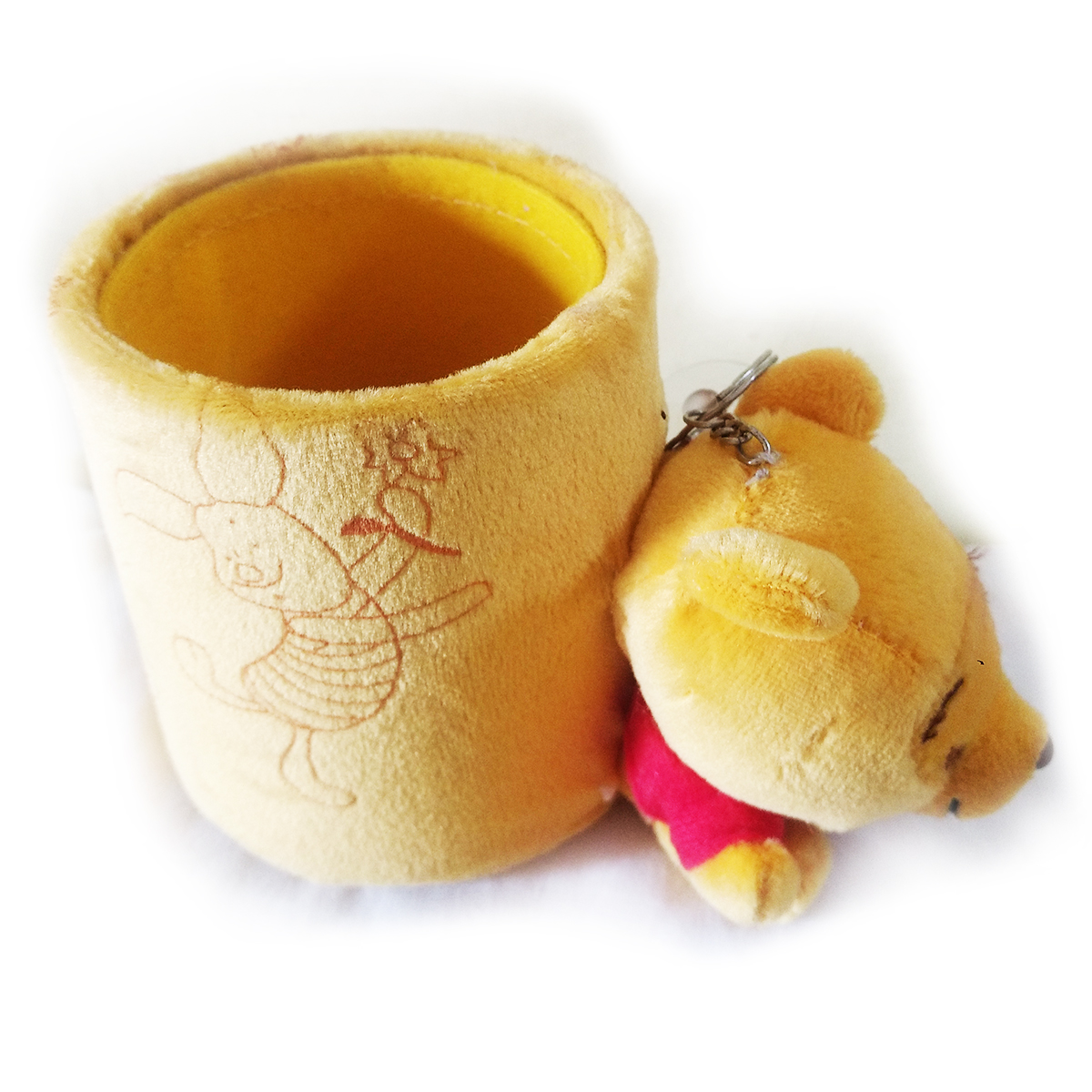 Buy Pen Holder Yellow With Cute Winni The Pooh For Birthday Gift